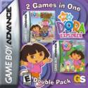 Dora the Explorer Double Pack (CIB) - GBA USED (boxed)