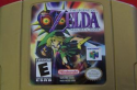 Legend of Zelda Majora's Mask (DAMAGED)- N64 USED (no box)